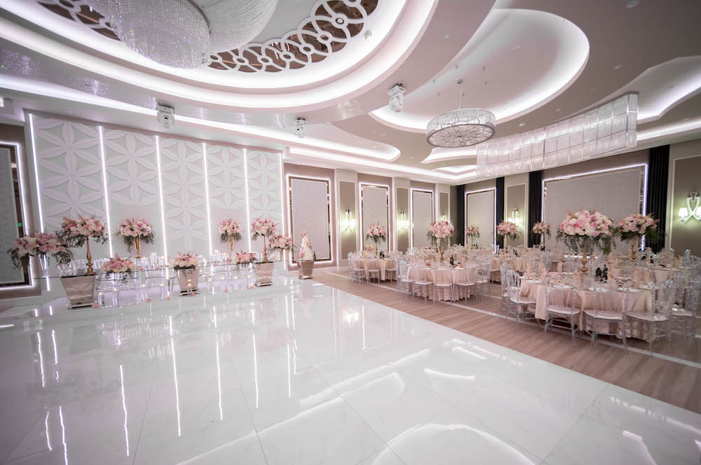 Avanti Banquet Hall in Pink Colors