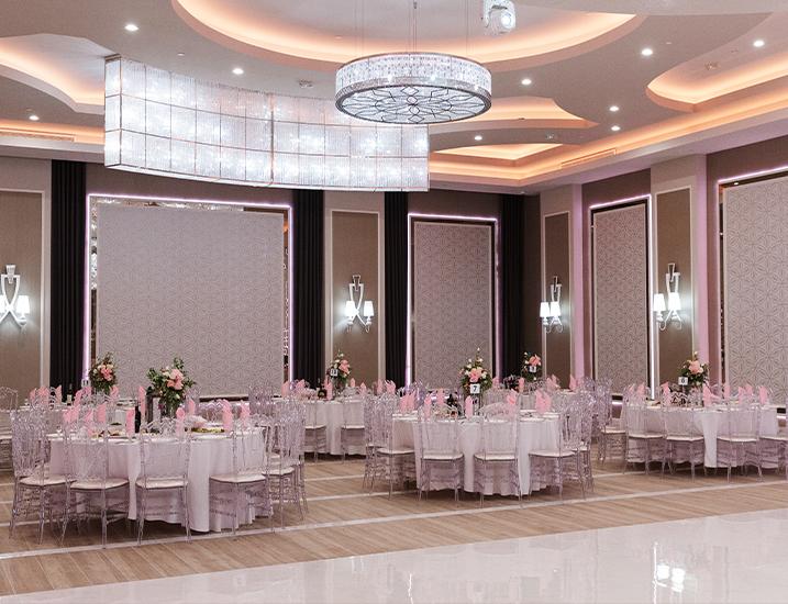 Avanti Banquet Hall - Amenities