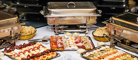 Avanti Banquet Hall - Buffet Style Dining